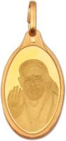 Kundan 2.7 gm Sai Baba 24kt Yellow Gold Pendant