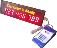 Delight Display India Token Display System For Restaurant DDI 6 Token Display System For Restaurant DDI 6 Indoor PA System(120 W)