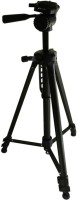 Power Smart Professional 3 Way PAN TILT ROTATE PS 333 Camera Stand Tripod(Black, Supports Up to 5000 g)