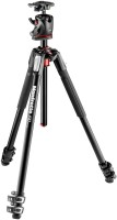Manfrotto MK190XPRO3-BHQ2 - 190 ALU 3 SEC KIT | Genuine Product By MADE IN ITALY | Tripod Ball Head(Black, Supports Up to 7000)