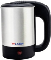 Lazer Hotpot 0.5 L Electric Kettle(0.5 L, Black and Silver)