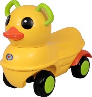 HLX-NMC cutie duck executive standard manual ride-on for kids - Yellow Scooter Non Battery Operated Ride On(Yellow)
