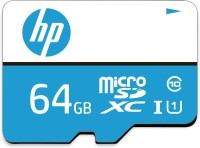 HP U1 64 GB MicroSDXC Class 10 10 MB/s  Memory Card(With Adapter)