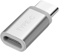 WHITE PANTHER Type c to micro usb convertor (WHT-600) USB Adapter(Silver)