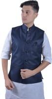 indiroots Sleeveless Solid Men's Jacket