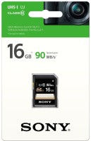 Sony Series SD 16 GB SD Card Class 10 90 MB/s  Memory Card