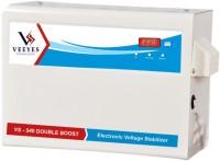 VEEYES VS 540DB Digital Voltage Stabilizer for Air conditioners upto 2 TN (Working Range : 140V - 280V)(Floral White)