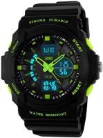 Skmei GMARKS-5590- GREEN Sports Analog-Digital Watch For Unisex