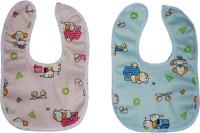 N3 Baby Care Bib Waterproof Fast Dry Premium Quality set of 2 bibs(Pink, Blue)