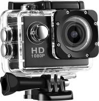 Forkin Full HD 1080p 12MP Sports Camera Best Quality Waterproof Camera Multiple Photo Shooting Mounted Suitable Sports and Camera (Black 12 MP) Sports & Action Camera(Black)