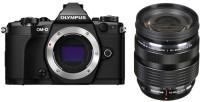 OLYMPUS OM-D -D E-M5 Mark II Mirrorless Camera digital ED 12-40mm f2.8 PRO Lens(Black)