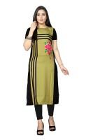 Bandidhari Fashion Women Printed Straight Kurta(Multicolor)