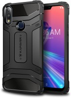 Kapaver Back Cover for Asus Zenfone Max Pro M2(black, Rugged Armor)