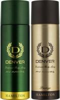 Denver Hamilton & Prestige Deo Combo (Pack of 2) Deodorant Spray  -  For Men(400 ml, Pack of 2)