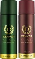 Denver Hamilton & Honour Deo Combo (Pack of 2) Deodorant Spray  -  For Men(400 ml, Pack of 2)