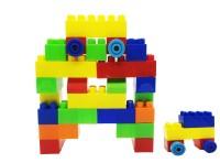 Miss & Chief Interlocking Colorful 27 PCS Educational Puzzle Bulding Blocks Set Toys for Kids(Multicolor)