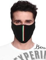comfy care Black Bike Face Mask for Men & Women(Size: Free,  Balaclava)