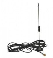 MICROTEL Generic GSM 2G,3G,4G Long Wire Antenna Magnetic Mount-10 FEET/3 Meter (SMA) Antenna Amplifier