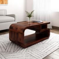 Balaji Sheesham Wood Solid Wood Coffee Table(Finish Color - Provincial Teak)