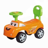 Indmart Ride on car with Music | Push Car Ride on Toy Suitable Kids for 3 to 8 Years - Red Car Non Battery Operated Ride On(Multicolour)(Multicolor)