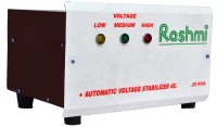 RASHMI 250 W Voltage Stabilizer(White-Brown)