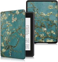 YAOJIN Flip Cover for All New Amazon Kindle Paperwhite 10th Generation(flower mix)