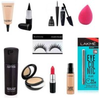 blushinsta combo makeup kit (Set of 11)(11 Items in the set)