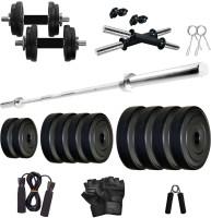 KRX PVC 25 KG COMBO 9 WB -SL Home Gym Kit