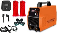 "ISC 16"" Long Hand Gloves + Advance IGBT Technology Electric ARC 200 Inverter MMA Type Welding Machine With Combo Inverter Welding Machine"