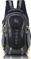 HEROZ HAMMER 45 Laptop Backpack(Black, Grey)