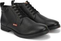 Lee Cooper LC9519BBLACK Boot Shoes For Men(Black)