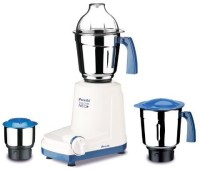 Preethi 2015 EcoChef 500 Juicer Mixer Grinder (3 Jars, White, Blue)