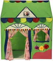 Homecute Hut Type Kids Toys Play Tent House(Green)