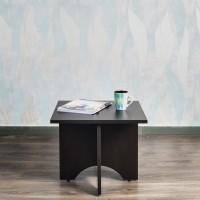 Akshni Squardon Engineered Wood Coffee Table(Finish Color - Wenge)