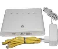 Huawei Original B310-927 4G WiFi Router Support All SIM & CCTV Camera DVR, NVR and WIFI Cameras 150 Mbps 4G Router(White, Single Band)