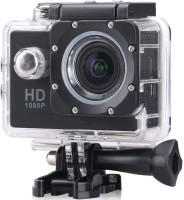 ALONZO Full HD 1080p 12mp SPORT ACTION CAMERA with 12 Mega Pixel ||1080P FULL H D resolution ||1.5 inch high resolution L C D screen ||Detachable & Rechargeable li-battery for Android, I O S, Smartphone Sports and Action Camera(Black, 12 MP)