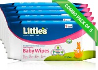 Little's Soft Cleansing Baby Wipes(400 Pieces)