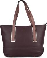 AND Women Brown Shoulder Bag