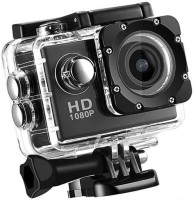 ROBMOB Action Shot 1080 Action Camera Go Pro Style Sports and Action Camera (Black 12 MP) 12 Sports & Action Camera  (Black) Sports and Action Camera(Black, 12 MP)