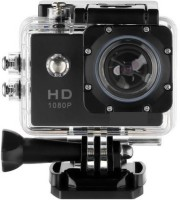 Mezire Action Shot 1080p 12MP Sports Waterproof Camera with Micro SD Card Slot and Multi Language Action Video up to 30M 2 inch LCD Wide Angle Sports and Action Camera(Black 12 MP) Sports and Action Camera(Black, 12 MP)