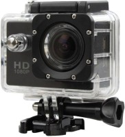 ROBMOB Action Shot Action Shot Full HD 12MP 1080P Black Helmet Sports Action Waterproof Sports and Action Camera  (Black 12 MP) Sports and Action Camera(Black, 12 MP)