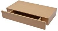 all crafts art drawer shelf MDF (Medium Density Fiber) Wall Shelf(Number of Shelves - 1, Brown)
