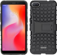 NKCASE Back Cover for Mi Redmi 6A(Black, Shock Proof)