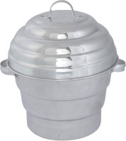eGLOB Aluminium 16 Idly / Khamand / Dhokla / Momos Cooker Steamer Standard Idli Maker(7 Plates , 16 Idlis )