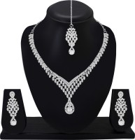 Atasi International Alloy Jewel Set(Silver)