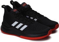 ADIDAS SPEEDEND2END Basketball Shoes For Men(White, Black)