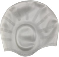Aurion Swimming Kit with Ear Protection Swimming Cap(Grey, Pack of 1)
