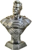 Uneeke Shape - Man of Steel : Batman vs Superman bust Antique style(Silver)
