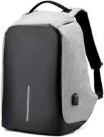 Blue Mart College Backpack, Business Laptop Backpack, Anti-theft Water Resistant Computer USB Charging Port, Lightweight Travel Bag Perfect Luminous Waterproof Waterproof Multipurpose Bag(Grey, 12 L)
