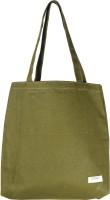 frenzo Reusable Tote cum Handbag Bag-Multipurpose Bag (100% Cotton Canvas)-Jhola Multipurpose Bag(Green, 15 L)